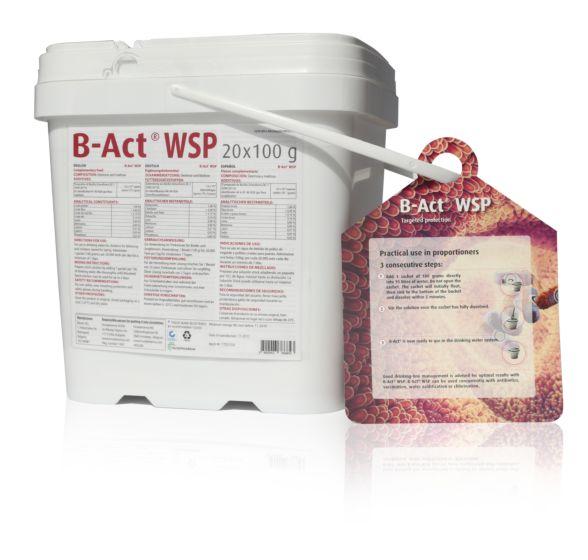 B-Act WSP, 2 kg (20 x 100 g), probiotik