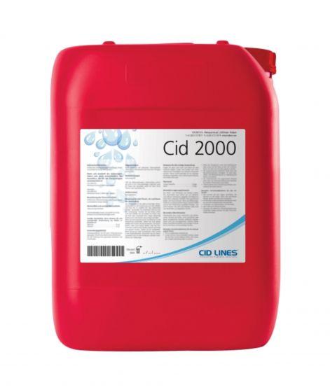 CID 2000, čisti in razkuži napajalni sistem, 5 kg