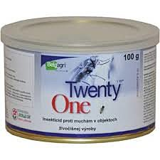 TWENTY ONE, insekticid adulticid, 100 g