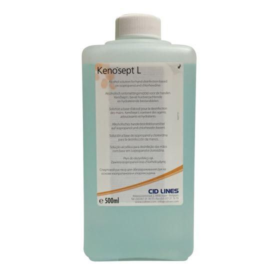 KENOSEPT- L, razkužilo za roke in površine, 500 ml s pršilko