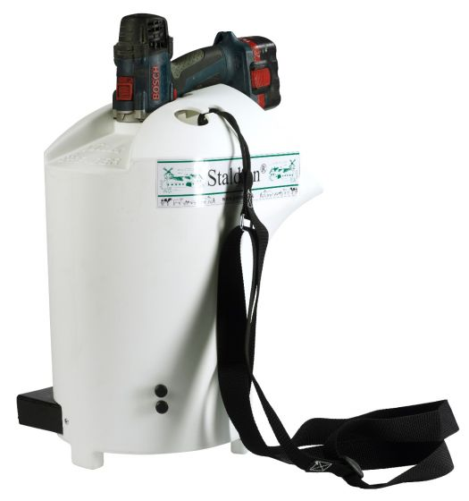 Baterijski posipalnik za Staldren - vedro