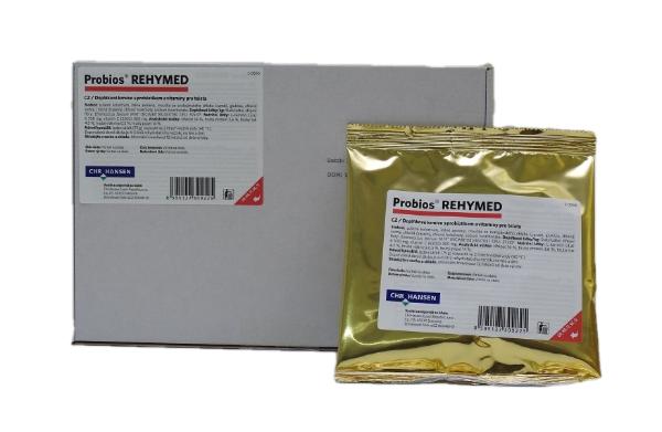 Probios REHYMED,  rehidracijska sol s kolostrumom in probiotikom, 10 x 75 g